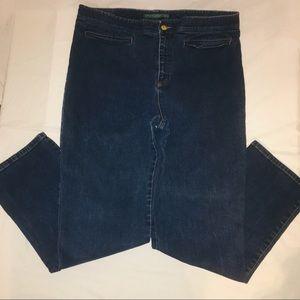 Women's Ralph Lauren Wide legs denim jeans 14w